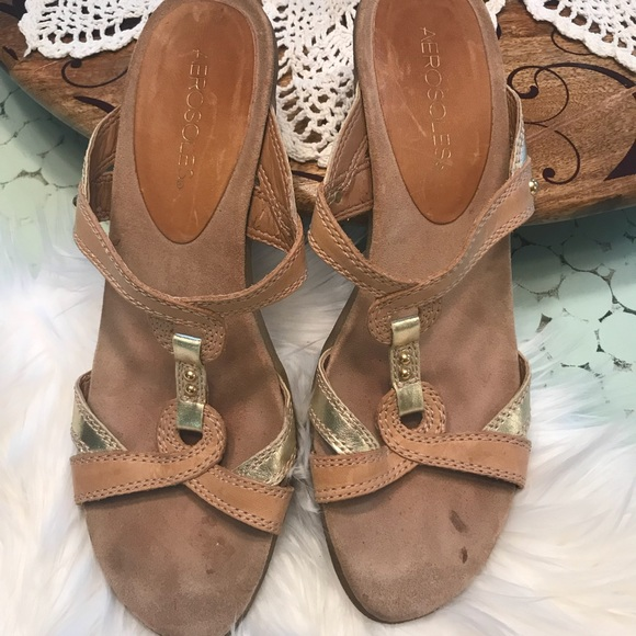f370f722052 AEROSOLES Shoes - 🔴RED DOT CLEARANCE AEROSOLES low heel sandals